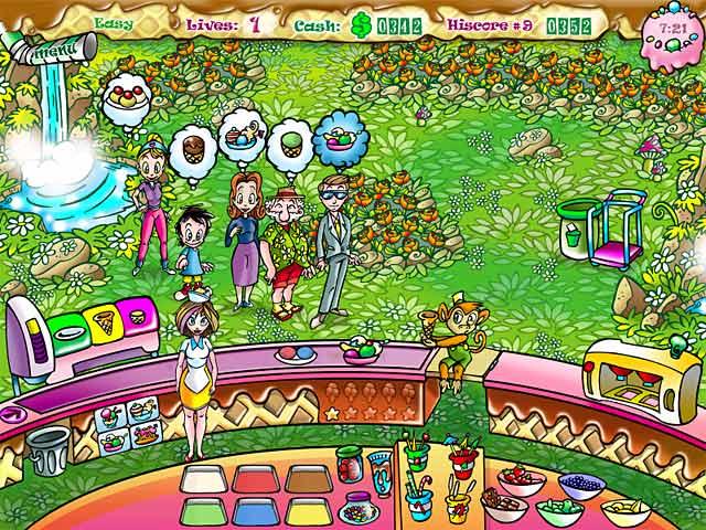 Game screenshot 2 Anna`s Ice Cream