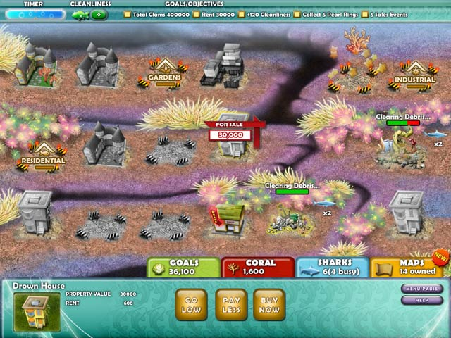 Game screenshot 2 Aquapolis