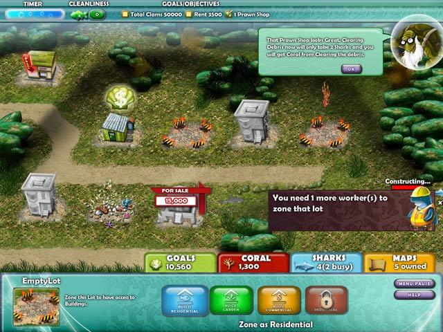 Game screenshot 3 Aquapolis
