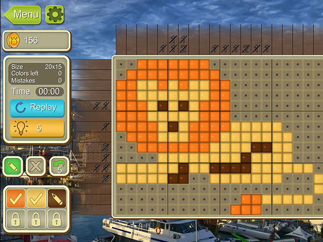 Game screenshot 3 Around the World Mosaics II