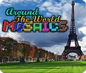 Feature screenshot game Around The World Mosaics