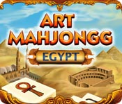 Feature screenshot game Art Mahjongg Egypt