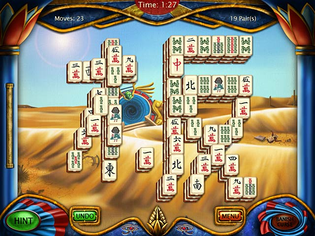 Game screenshot 1 Art Mahjongg Egypt
