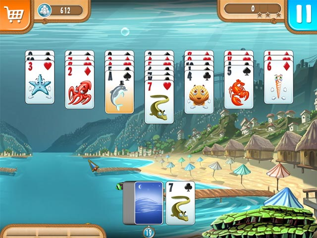 Game screenshot 1 Atlantic Quest: Solitaire
