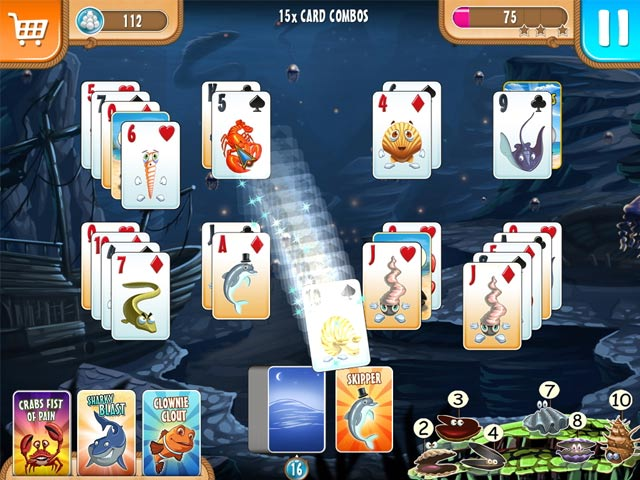 Game screenshot 3 Atlantic Quest: Solitaire