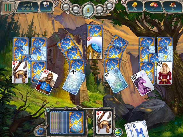 Game screenshot 1 Avalon Legends Solitaire 2