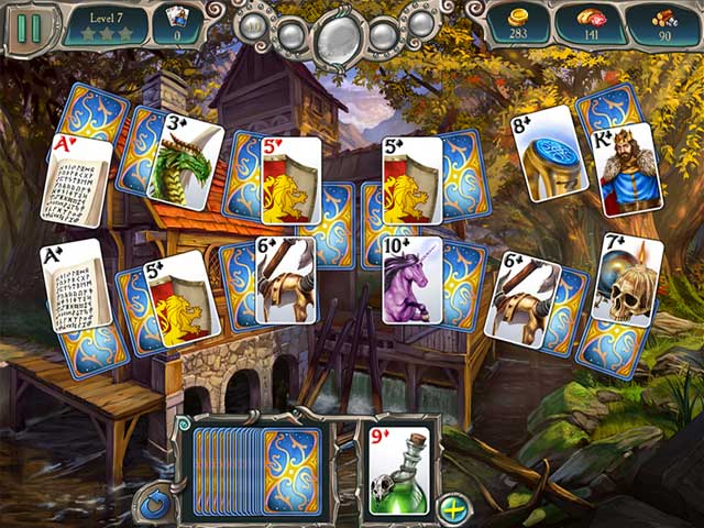 Game screenshot 2 Avalon Legends Solitaire 2