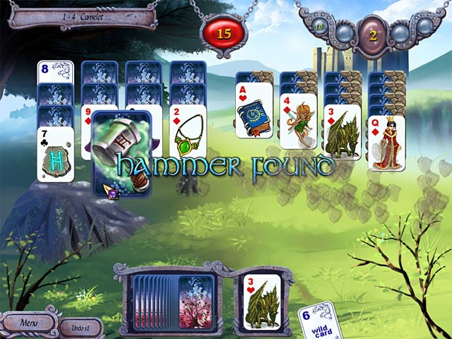 Avalon Legends Solitaire &#8211; Mac Screenshot-1