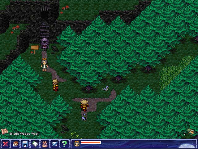 Aveyond The Lost Orb: View 3