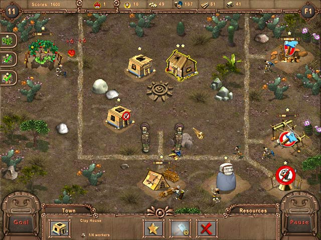 Game screenshot 1 Aztec Tribe
