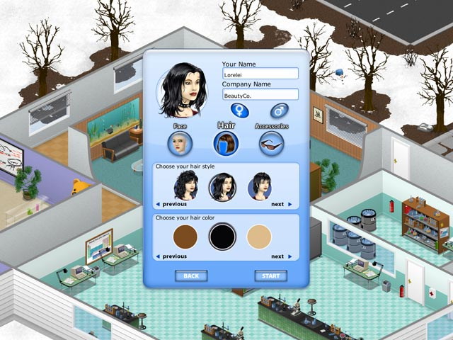 Game screenshot 2 Beauty Factory