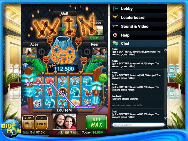 Big fish casino ipad iphone android mac pc game for Big fish casino real money