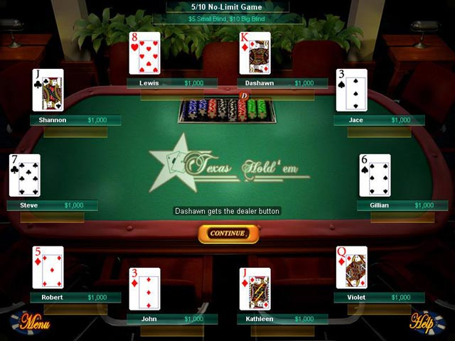 Game screenshot 2 Big Fish Games Texas Hold'Em