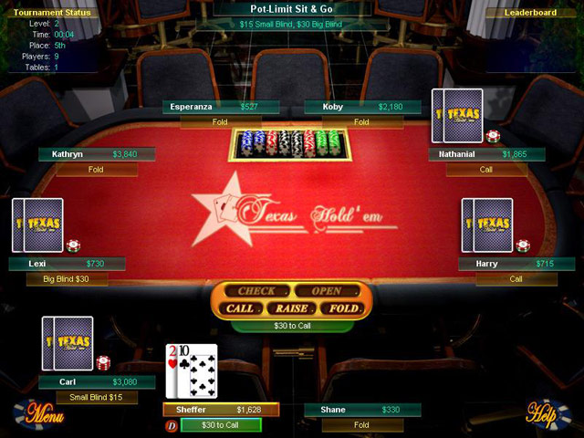 Game screenshot 3 Big Fish Games Texas Hold'Em