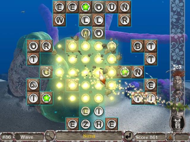 Game screenshot 2 Big Kahuna Words