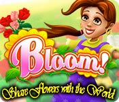 Feature screenshot game Bloom! Share flowers with the World