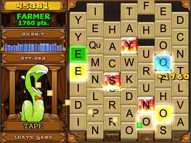 Game screenshot 1 Bookworm Deluxe