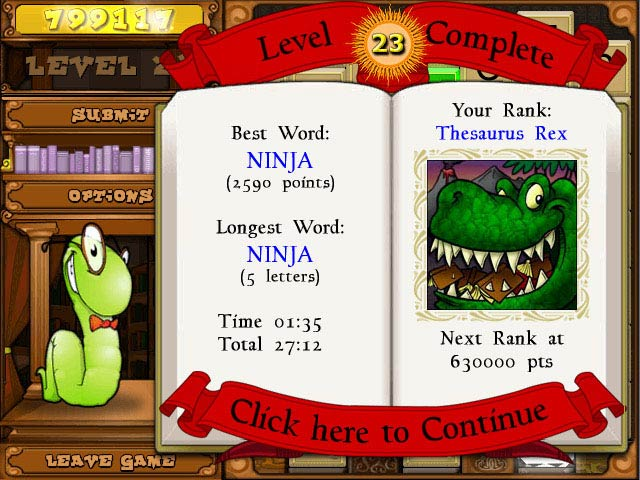 Game screenshot 2 Bookworm Deluxe