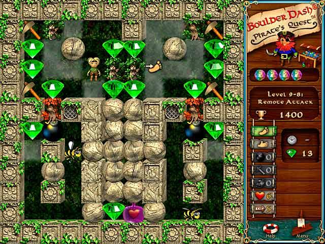Game screenshot 2 Boulder Dash-Pirate's Quest