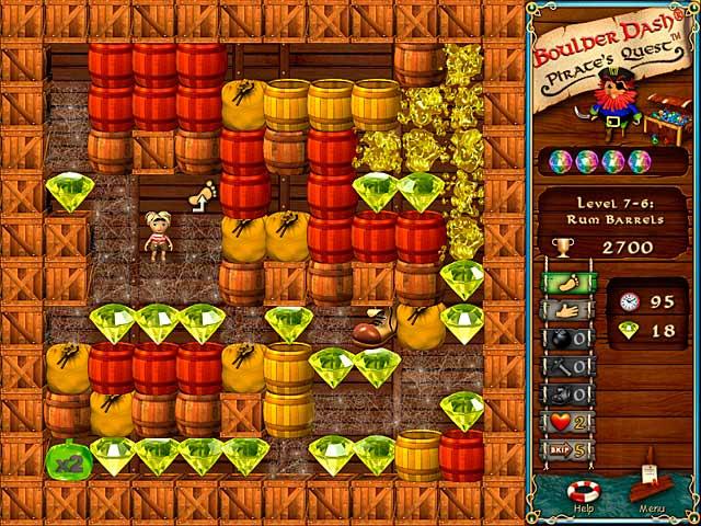 Game screenshot 3 Boulder Dash-Pirate's Quest