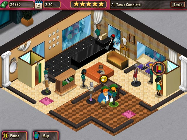 Game screenshot 1 Boutique Boulevard