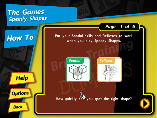 Game screenshot 2 Brain Training for Dummies