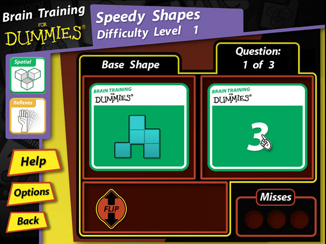 Game screenshot 3 Brain Training for Dummies