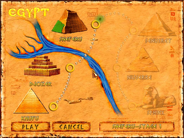 Brickshooter Egypt – Mac Screenshot-3