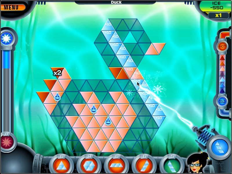 Game screenshot 1 Brrrmuda Triangle