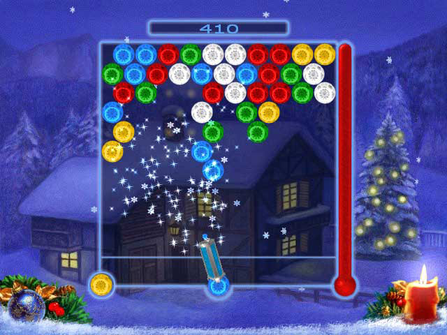 Game screenshot 2 Bubble Xmas