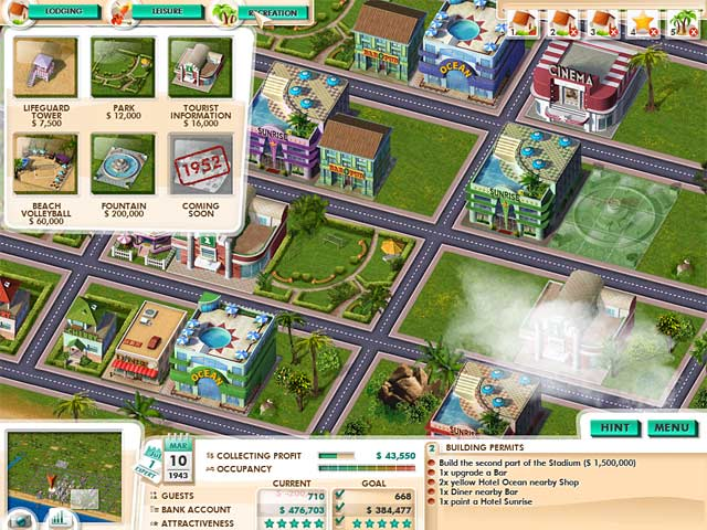 Game screenshot 1 Build It! Miami Beach Resort