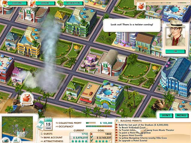 Game screenshot 2 Build It! Miami Beach Resort