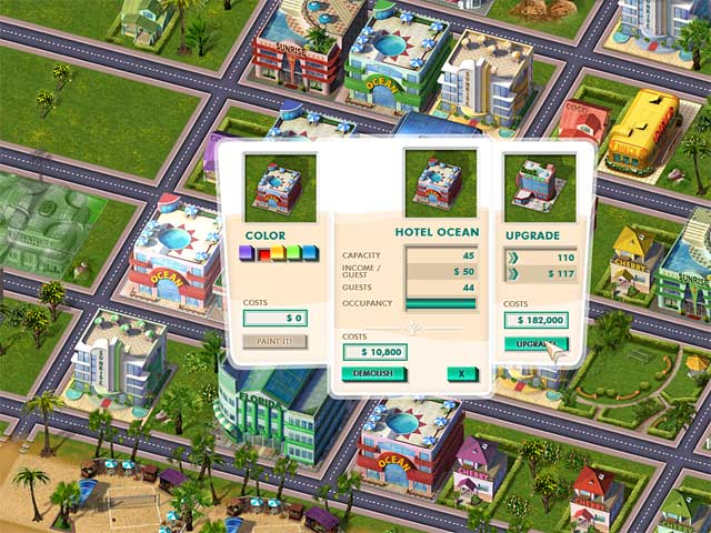 Game screenshot 3 Build It! Miami Beach Resort