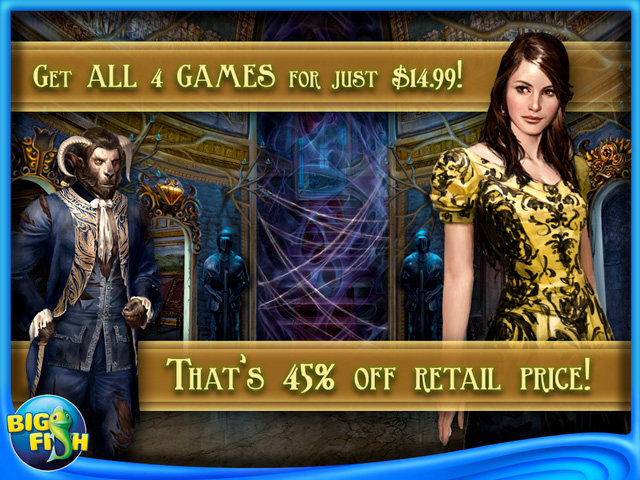 Screenshot for Dark Fairy Tale Adventure Games for iPad by Big Fish