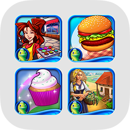 The Foodie Game Bundle - Cooking, Farming, Serving, and more for iPad!