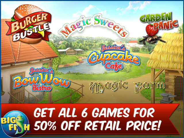 The foodie game bundle cooking farming serving and for Big fish cooking games