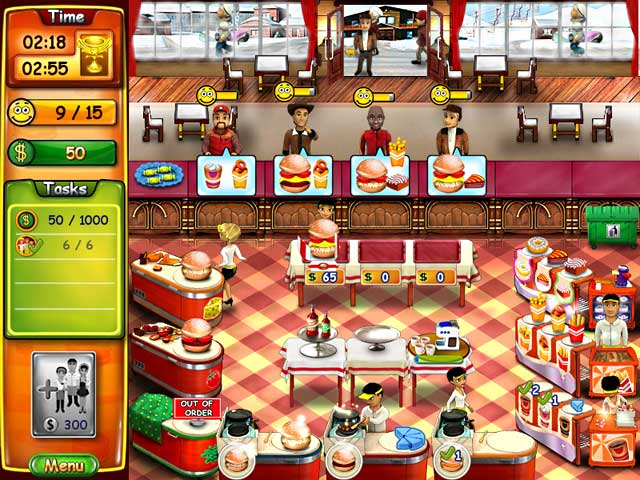 game burger shop full version free