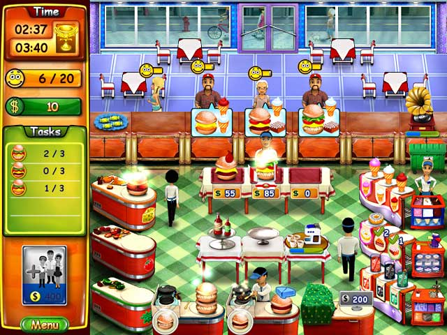Game screenshot 2 Burger Bustle
