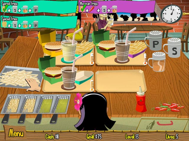 Game screenshot 1 Burger Island