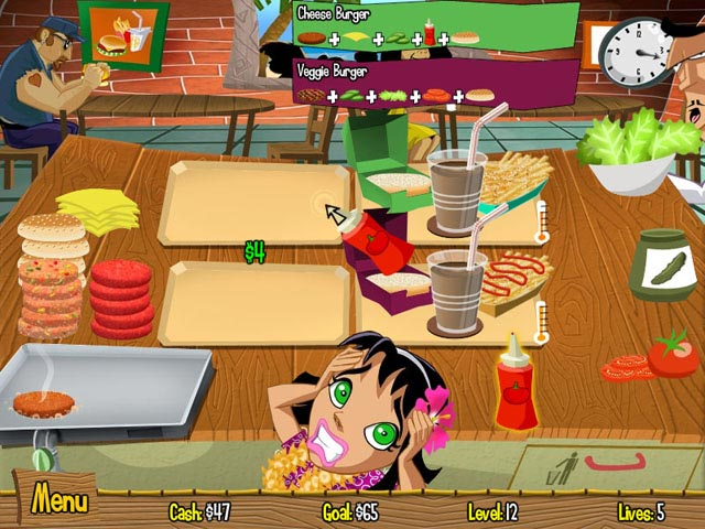 Game screenshot 2 Burger Island