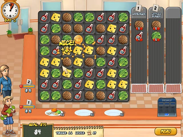 Game screenshot 1 Burger Rush