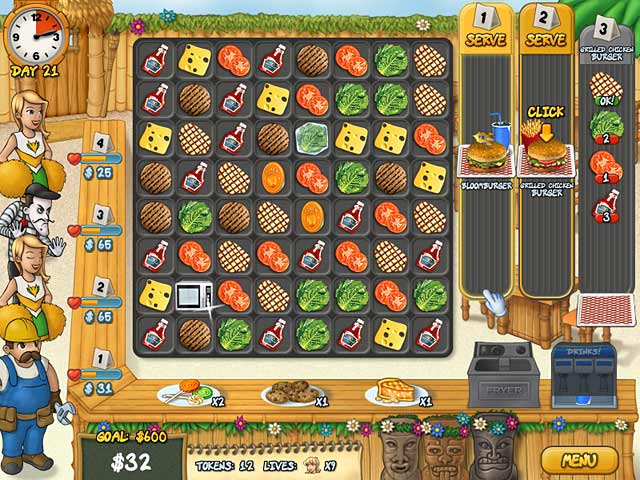 Game screenshot 2 Burger Rush
