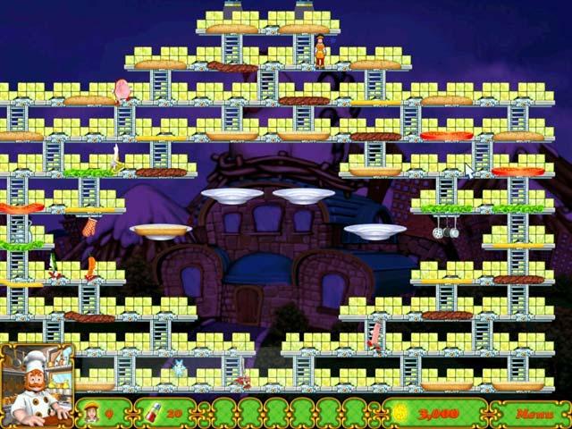Game screenshot 2 BurgerTime Deluxe