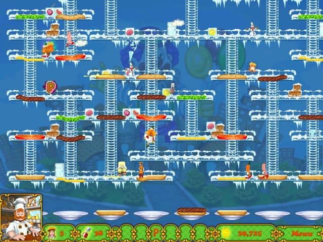 Game screenshot 3 BurgerTime Deluxe