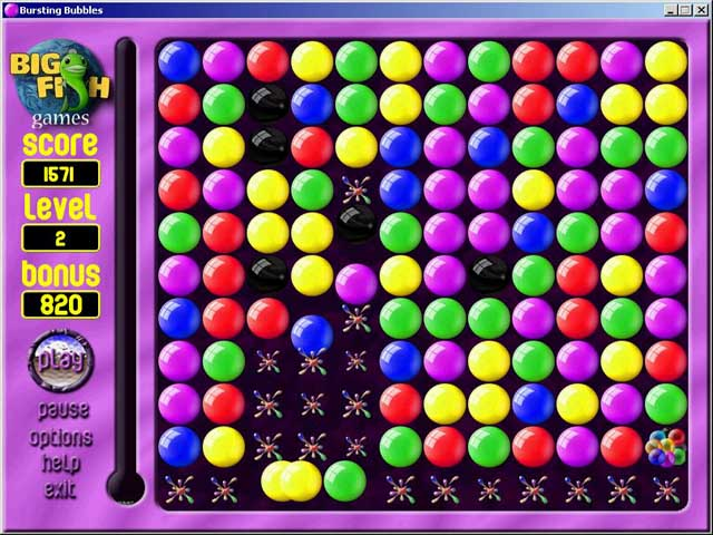 Spiele Screenshot 2 Bursting Bubbles
