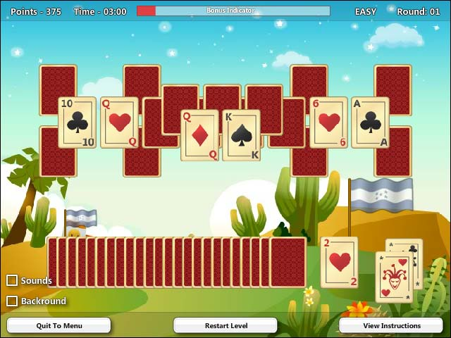 card game golf online