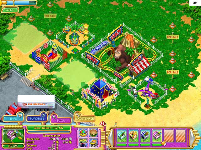 Game screenshot 2 Carnival Mania