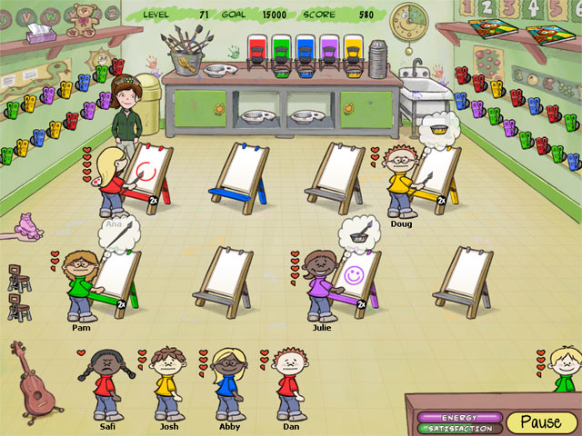 Game screenshot 1 Carrie the Caregiver 2: Preschool