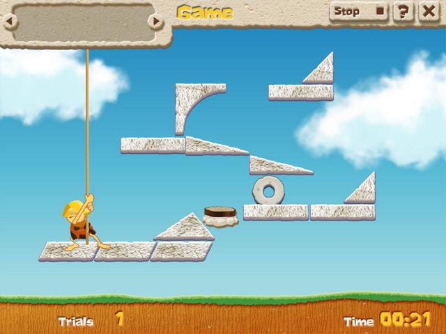 Game screenshot 2 Caveman Physics