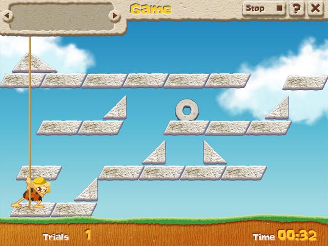 Game screenshot 3 Caveman Physics